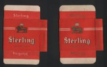 old cigarette packets with 2 different varieties